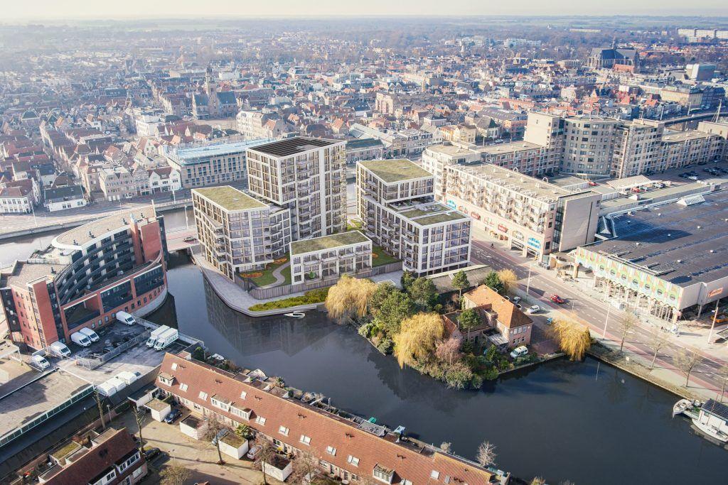 Overstad - Dockside - vogelvlucht_achter