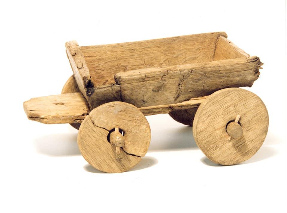 houten-karretje-vondst op vrijdag