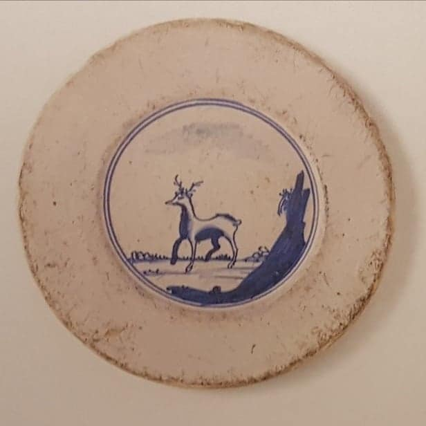 bord met hert-2-vondst op vrijdag