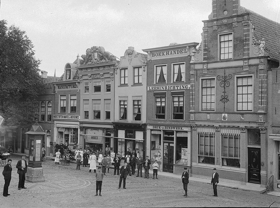 Mient 27 waarschijnlijk voor 1918. Beeldbank Rijksdienst Cultureel Erfgoed. Fotograaf: C.J. Steenbergh