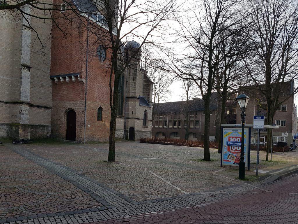 Contouren kerktoren Grote Kerk