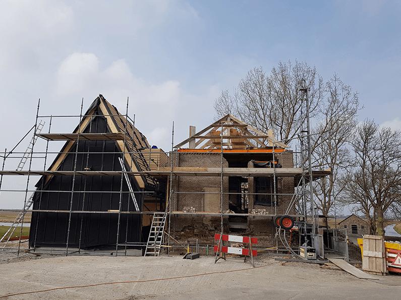 Gemaal met nieuwe woning