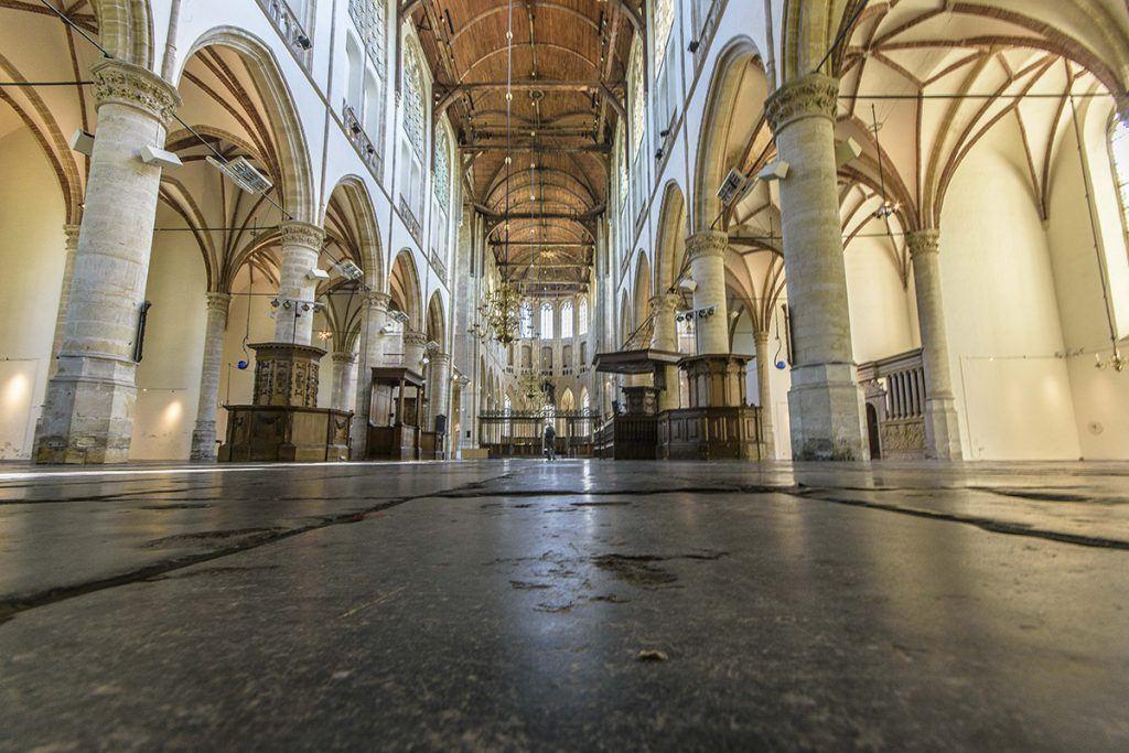 Interieur Grote Sint Laurenskerk
