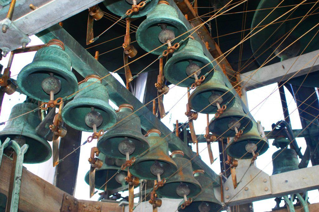 Waagtoren klokken