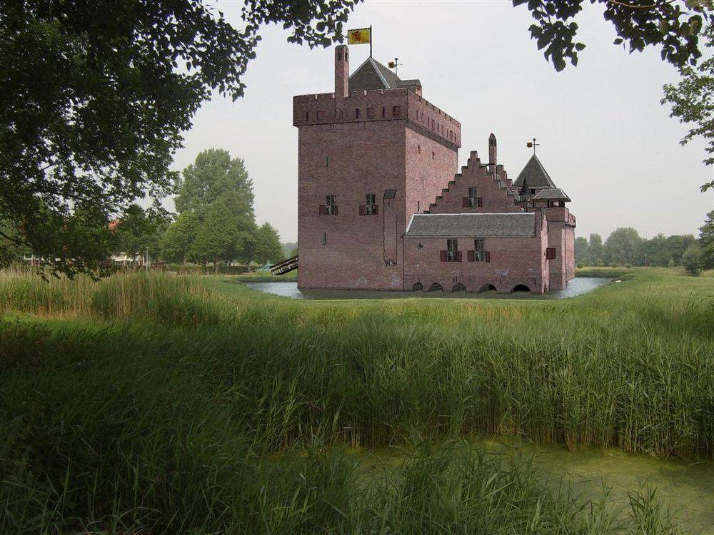 3D impressie kasteel de Middelburg door R Cevat