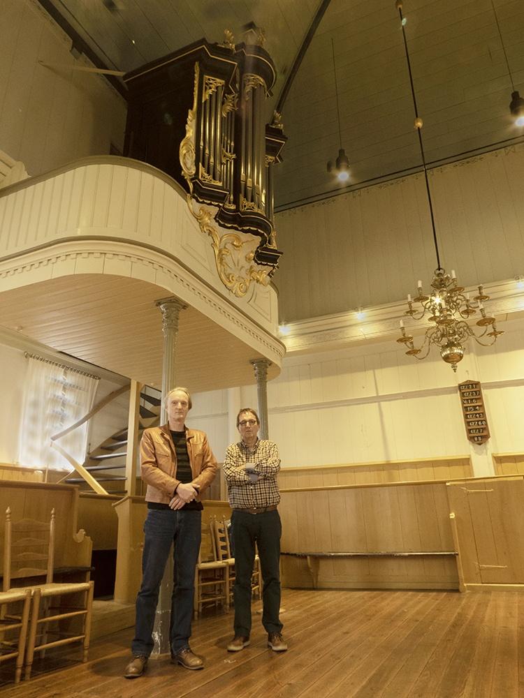 Hans Steketee en Gerrit Prins (foto Gerrit Prins)