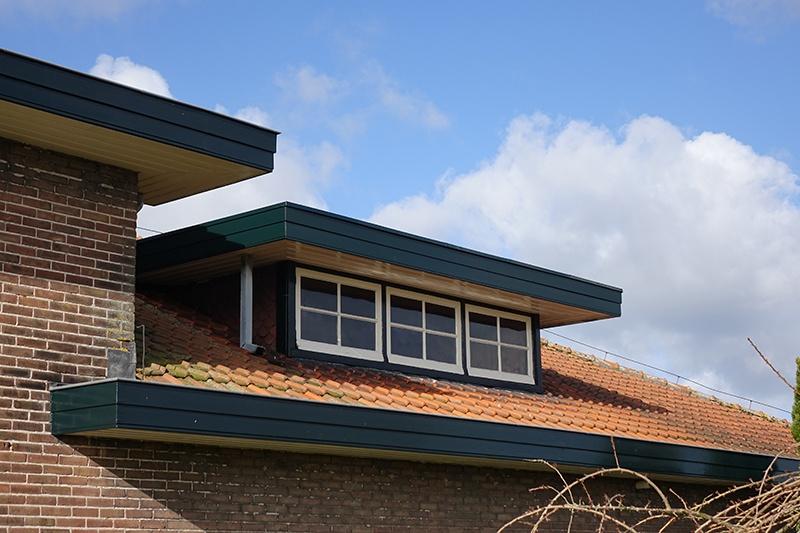 Horizontale lijnen, waarvoor Frank Lloyd Wright de inspiratie leverde.