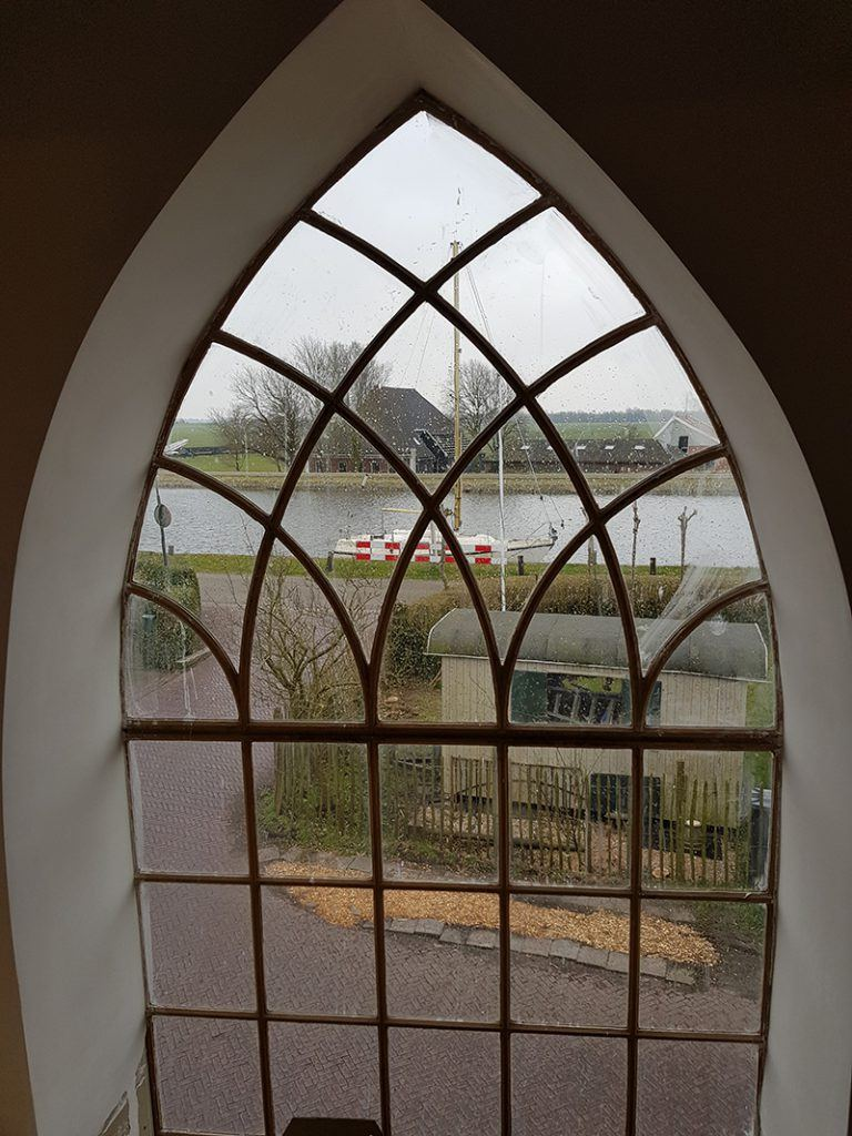 Kerk Oost Graftdijk uitzicht