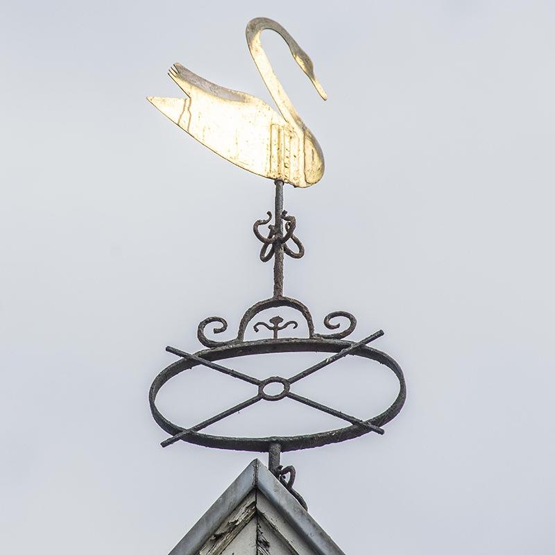 Spits van De Groene Zwaan. Door Ritske Velstra.