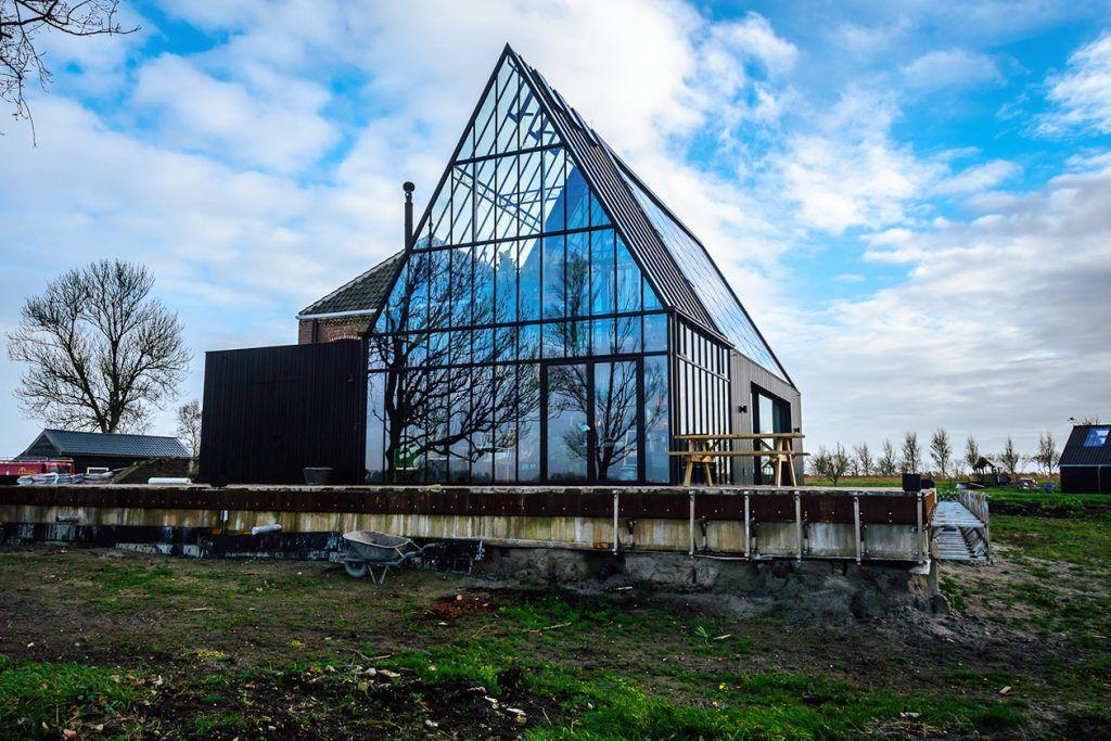 Stoomgemaal Schermerhorn achterzijde. Foto Ritske Veltstra.