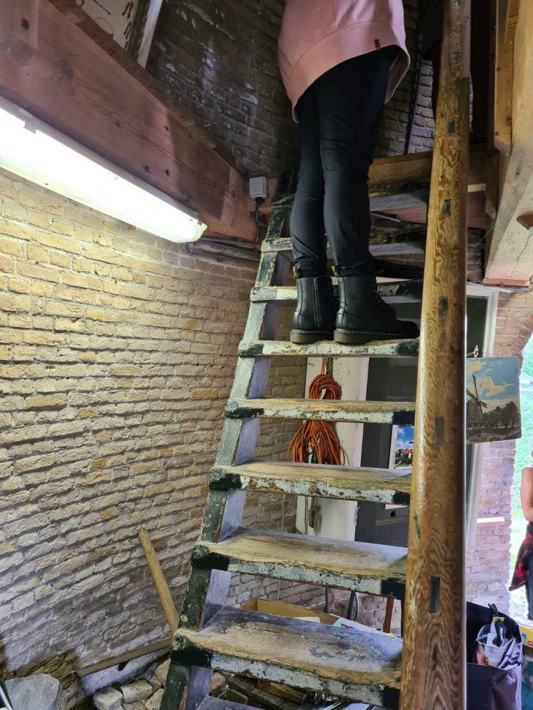 Binnenkijken in een molen