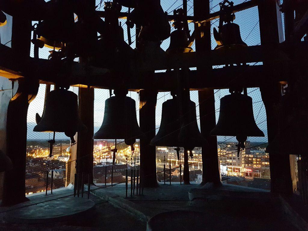 Carillon Waagtoren bij avond
