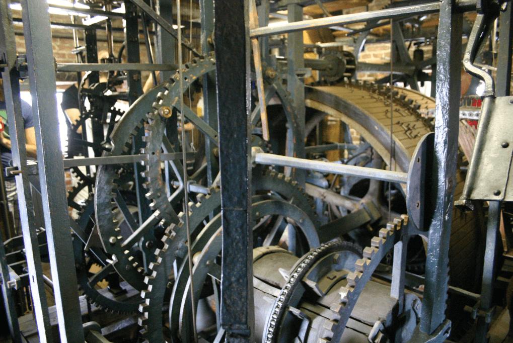 Carillon speeltrommels Waagtoren
