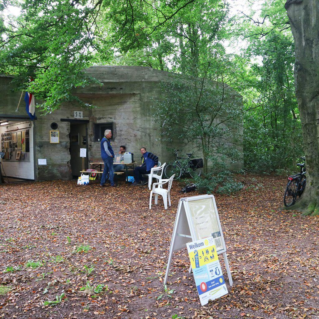 De bunker aan de Wilhelminalaan