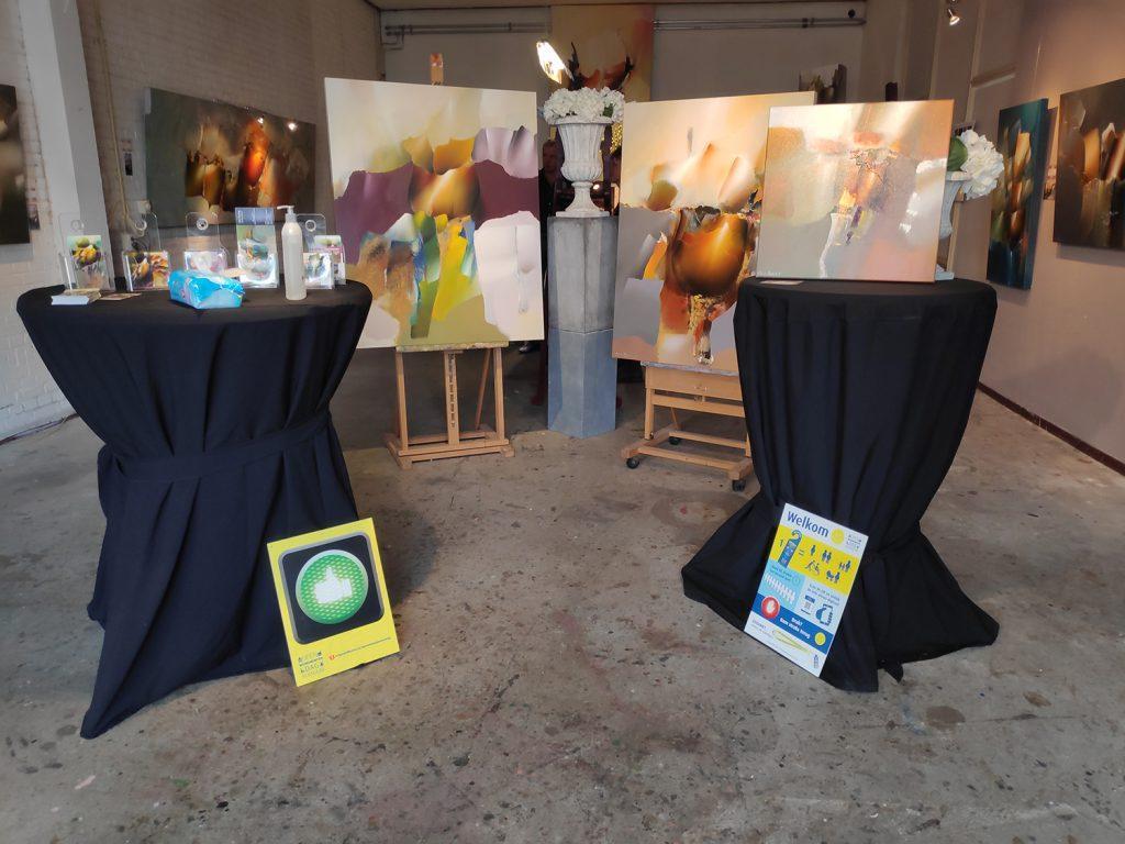 Expositie Arie Koning Ateliers Kerrebijn