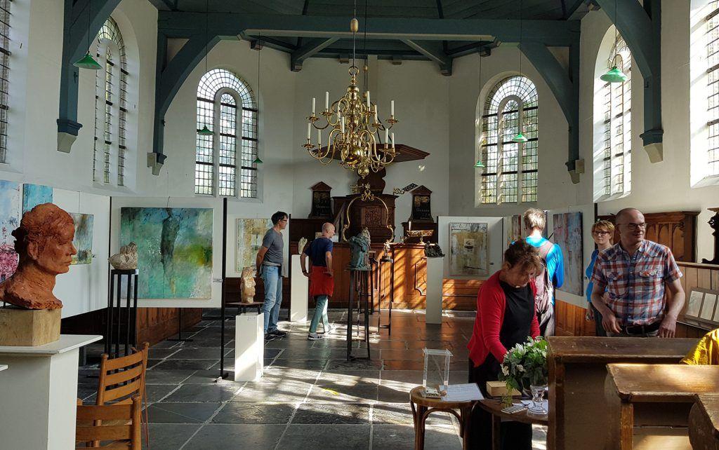 Expositie in Dorpskerk Grootschermer