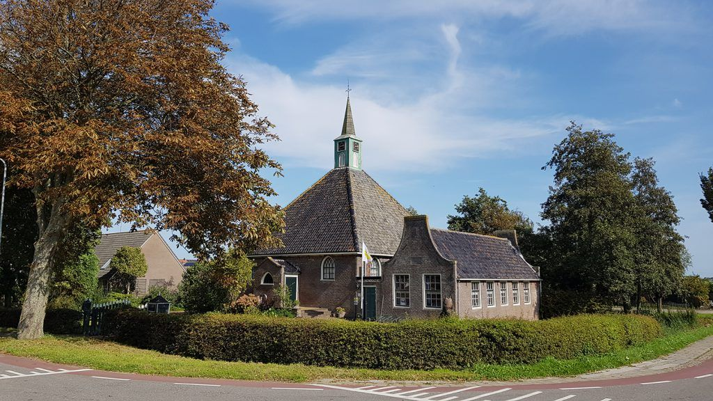 Het Zwarte-kerkje in Zuidschermer