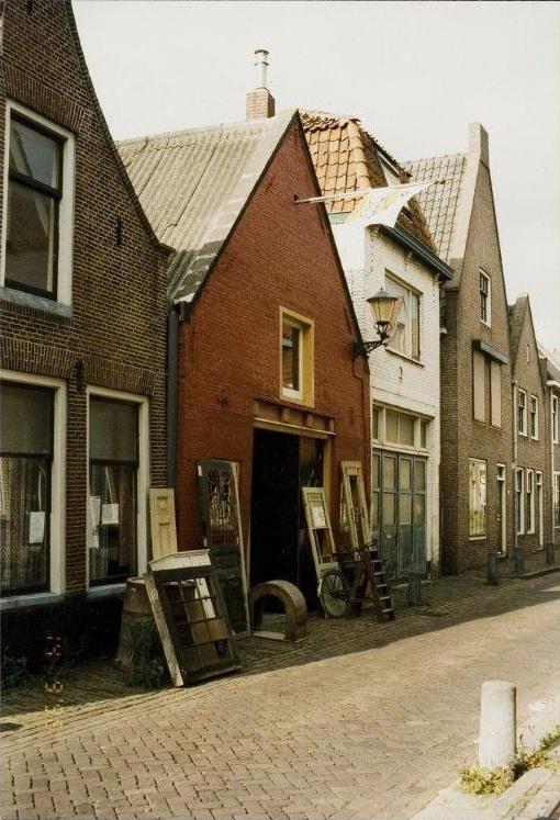 Henk Krabbendam monumentenloods