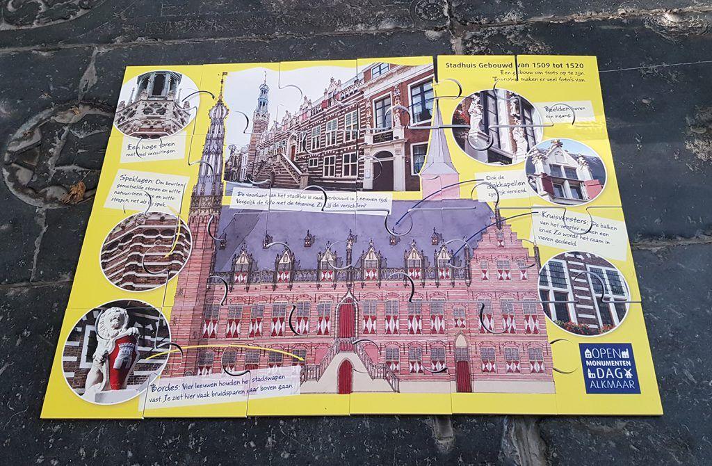Reuzenpuzzel van het Stadhuis