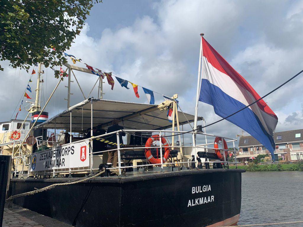 Varend monument De Bulgia aan de Voormeer