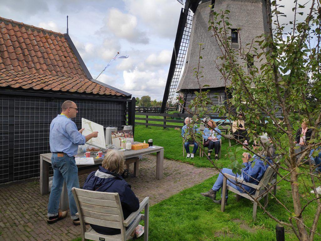 Verhalen van de molenaar bij Molen-D aan de Molenkade